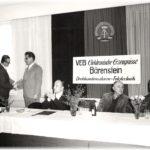 1972 wird der Betrieb zu VEB Elektronische Erzeugnisse Bärenstein