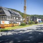 Größte Investition des Unternehmens bis heute: der Bau einer neuen Hydromatenhalle.